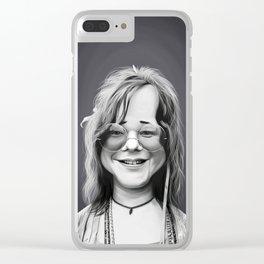 JanisJoplin Clear iPhone Case