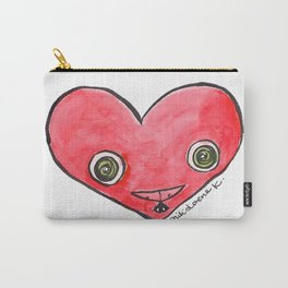 """""""Oro?"""" Valentine's Heart Carry-All Pouch"""