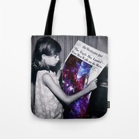 houston Tote Bags featuring Houston  by Saturos