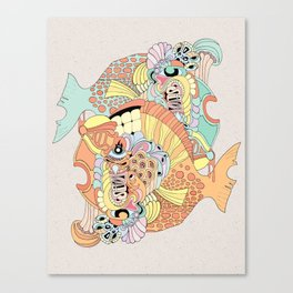 blowfish Canvas Print