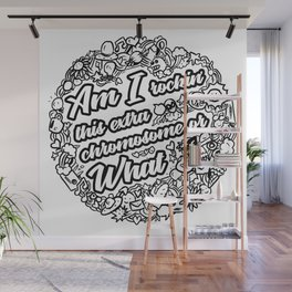 Down Syndrome Awareness Support Trisomy 21 Gift Wall Mural