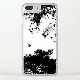 freedom to fly up to sky Clear iPhone Case