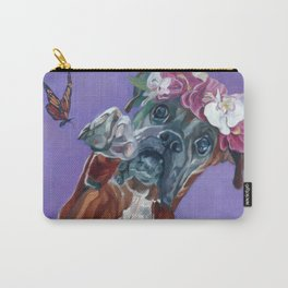Hazel the Princess Boxer Girl Carry-All Pouch