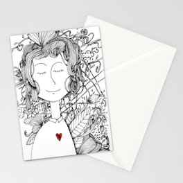 inside me Stationery Cards