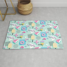 Memphis Sweet Candies Rug By Miavaldez Society6