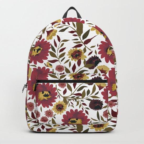 PUGS FLORAL Backpack