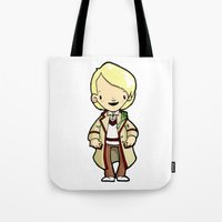 fifth element Tote Bags featuring FIFTH by Space Bat designs