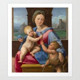 """Raffaello Sanzio da Urbino """"Aldobrandini Madonna"""", circa 1510 Art Print"""