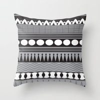 native Throw Pillows featuring Native  by flamboyancedesigns