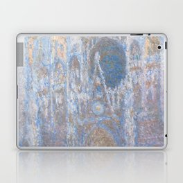 Rouen Cathedral, West Façade by Claude Monet Laptop & iPad Skin