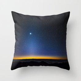 Stars in Hawaii Throw Pillow
