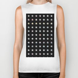 The System - small star Biker Tank