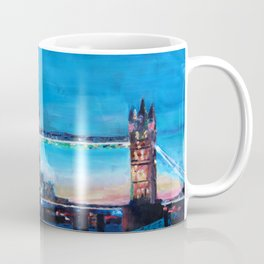 London Tower Bridge and The Shard at Dusk Coffee Mug