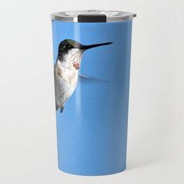 Juvenile Ruby-Throated Hummingbird Travel Mug