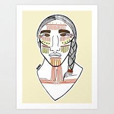 Cochimí Art Print