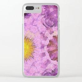 Zirkite Content Flower  ID:16165-022132-66350 Clear iPhone Case