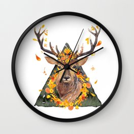 The Spirit of the Forest Wall Clock