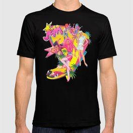 Jem and the Holograms Retro T-shirt