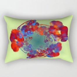 The Flower I Love Rectangular Pillow