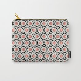 Asian Snake Pattern Carry-All Pouch