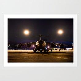 UNITED STATES AIR FORCE C-17 GLOBEMASTER III Art Print