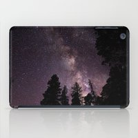 milky way iPad Cases featuring Milky Way by Holly O'Briant