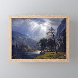 Albert Bierstadt Yosemite Valley Framed Mini Art Print