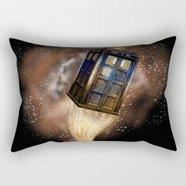 Fantastic Tardis Doctor Who Mashup with Fantastic Bag Rectangular Pillow
