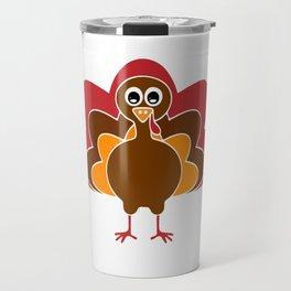 Turkey thanksgiving shirt Travel Mug