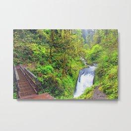 Oneonta Falls Metal Print