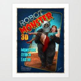 Robot Monster Poster Art Print