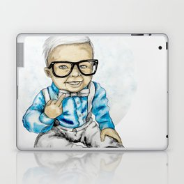 Naughty Boy by carographic Laptop & iPad Skin