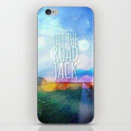Hit The Road, Jack iPhone Skin