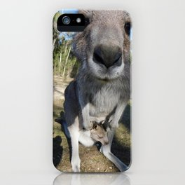 Cute Kanga and Joey iPhone Case