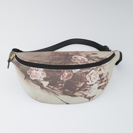 Abstract Vintage Flowers Fanny Pack