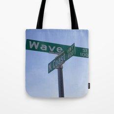 Wave Street Tote Bag