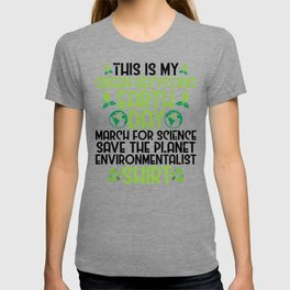 Green Recycling Save Planet Everything Ecofriendly T-shirt