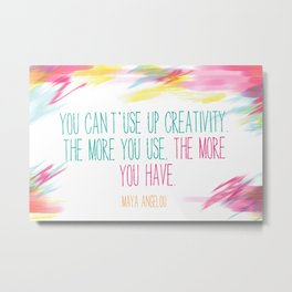 The more you have Metal Print