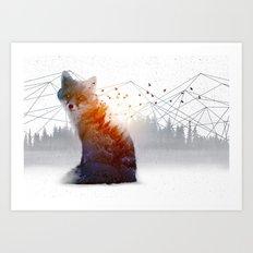 A Wilderness Within / Fox Art Print