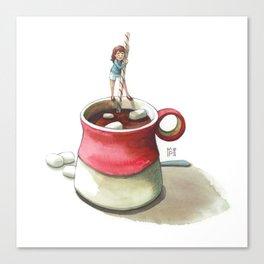 Hot Cocoa Canvas Print