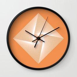 Square Pyramid Wall Clock