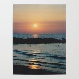 Sunset Ocean Bliss #1 #nature #art #society6 Poster
