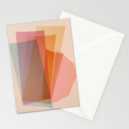 Abstraction_Spectrum Stationery Cards