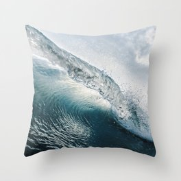 Crystal Rip Curl Surfers Dream Throw Pillow