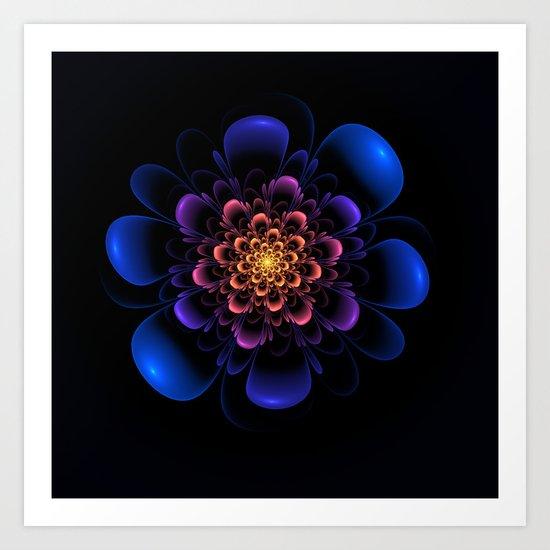 Dark Beauty Art Print