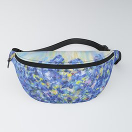 Lavender after the rain, flowers Fanny Pack