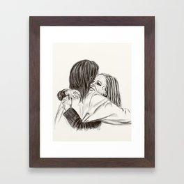 Christ Loves Everyone Framed Art Print