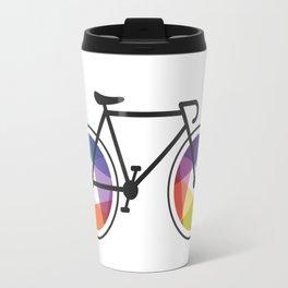 Geometric Bicycle Travel Mug