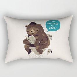 Does A Bear.. Rectangular Pillow