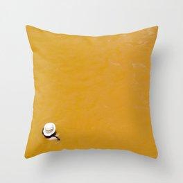 Banos Morales, Chile Throw Pillow